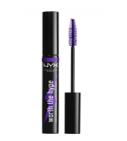 Nyx, Worth The Hype, Purple mascara, Tusz do rzęs, 7 ml