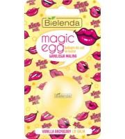 Bielenda, Magic Egg, Balsam do ust w kulce, Waniliowa Malina, 8,5 g