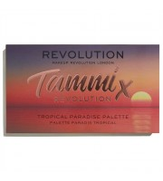 Makeup Revolution, Paleta cieni Tammi X Tropical Paradise, 22 g