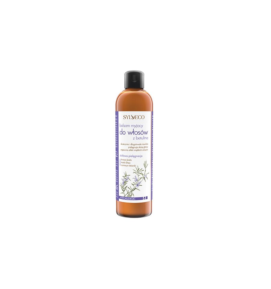 Sylveco,  Balsam myjący do włosów z betuliną, 300ml