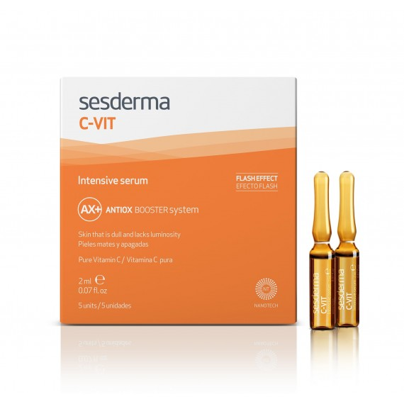 Sesderma, C-Vit, Intensive Serum Antiox Booster System, Intensywne serum, 5x2 ml
