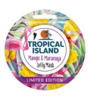 Marion, Tropical Island, Jelly Mask Mango & Maracuja, Maseczka do twarzy, 10 g