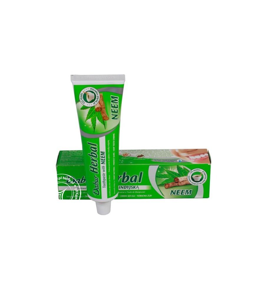 Dabur, Ziołowa pasta do zębów z neem, 100 ml