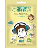 Marion, Funny Mask, Energetyzująca maska do twarzy Banan - Kiwi