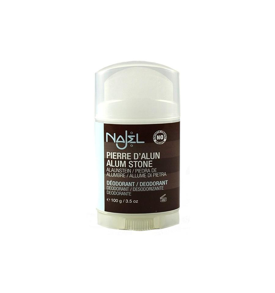 Najel, Ałun w sztyfcie, Naturalny dezodorant, 100 g