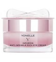 Yonelle, Infusion Anti-Wrinkle Rich Eye Cream Night, Krem przeciwzmarszczkowy na noc, 15 ml