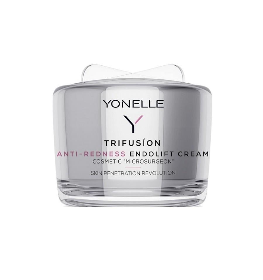 Yonelle, Trifusion, Anti-Redness Endolift Cream, Krem liftingujący do cery naczynkowej, 55 ml