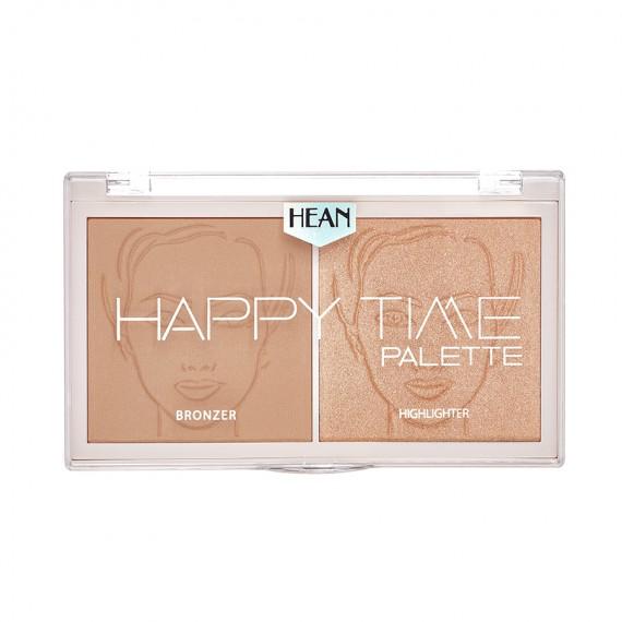 Hean, Paletka do konturowania i rozświetlania Happy Time, Sunny
