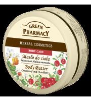 Green Pharmacy, Masło do ciała Żurawina i Malina Moroszka, 200 ml