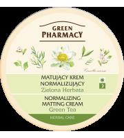 Green Pharmacy, Matujący krem normalizujący Zielona Herbata, 150 ml