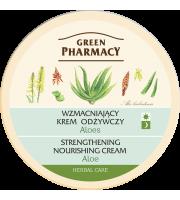 Green Pharmacy, Wzmacniający krem odżywczy Aloes, 150 ml