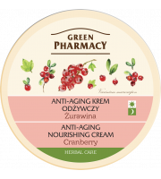 Green Pharmacy, Anti-aging krem odżywczy Żurawina, 150 ml