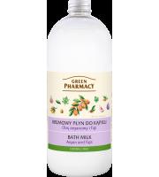 Green Pharmacy, Kremowy płyn do kąpieli Olej arganowy i Figi, 1l