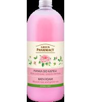 Green Pharmacy, Pianka do kąpieli Róża Piżmowa i Zielona Herbata, 1l