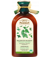 Green Pharmacy, Balsam do włosów zniszczonych, łamliwych i osłabionych Pokrzywa Zwyczajna, 300 ml