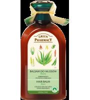 Green Pharmacy, Balsam do włosów farbowanych i po innych zabiegach Aloes, 300 ml