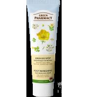 Green Pharmacy, Krem do stóp odświeżający, ochronny, 100 ml