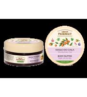 Green Pharmacy, Masło do ciała Olej Arganowy i Figi, 200 ml