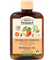 Green Pharmacy, Olejek do masażu ROZGRZEWAJĄCY, 200 ml