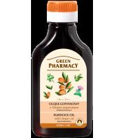 Green Pharmacy, Olejek łopianowy z olejem arganowym - odbudowujący, 100 ml