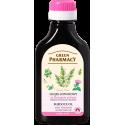 Green Pharmacy, Olejek łopianowy ze skrzypem polnym - przeciw wypadaniu włosów, 100 ml