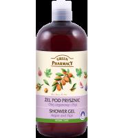 Green Pharmacy, Żel pod prysznic Olej arganowy i Figi, 500 ml