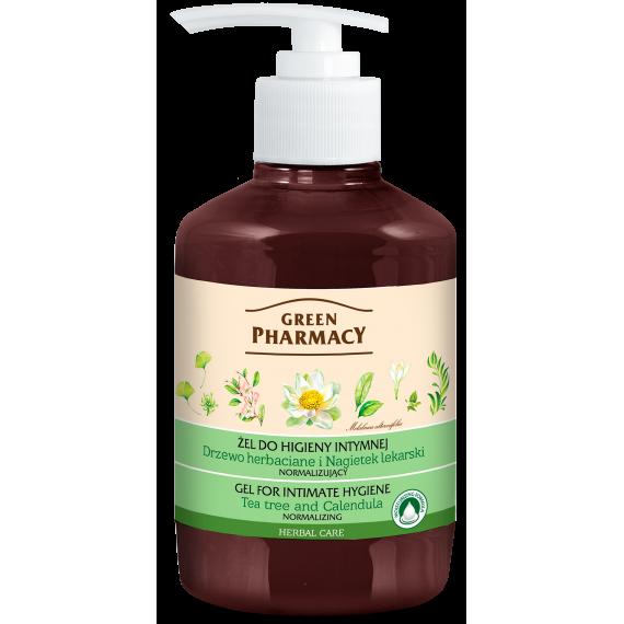 Green Pharmacy, Żel do higieny intymnej Drzewo herbaciane, 370 ml