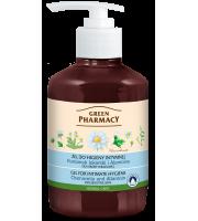 Green Pharmacy, Żel do higieny intymnej dla skóry wrażliwej Rumianek lekarski, 370 ml