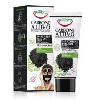 Equilibra, Maska do twarzy peel-off z aktywnym węglem, 100 ml