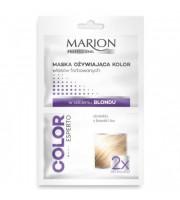 Marion, Maska ożywiająca kolor blond, 2x20 ml