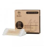 ZUZii, Patyczki bambusowe do uszu, 100 sztuk