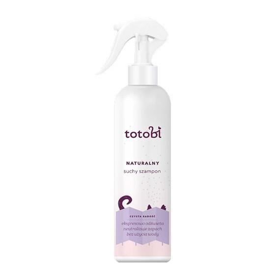 Totobi, Naturalny suchy szampon do skóry i sierści zwierząt, 300 ml