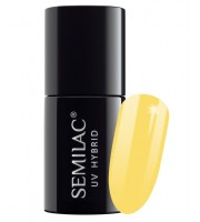 Semilac, 531 Lakier hybrydowy UV Hybrid Semilac Celebrate Joyfull Yellow 7ml