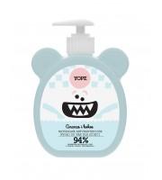 Yope, Antybakteryjne mydło dla dzieci Ananas i Kokos, 200 ml