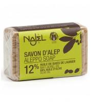 Najel, Mydło Aleppo 12% Olej laurowy, 100 g