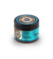Planeta Organica, Maska do włosów Organic Coconut, Tropikalne nawilżenie 300 ml