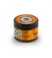 Planeta Organica, Maska do włosów Organic Baobab, Egzotyczna gęstość i blask, 300 ml