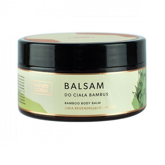 Nature Queen, Balsam do ciała Bambus, 200 ml