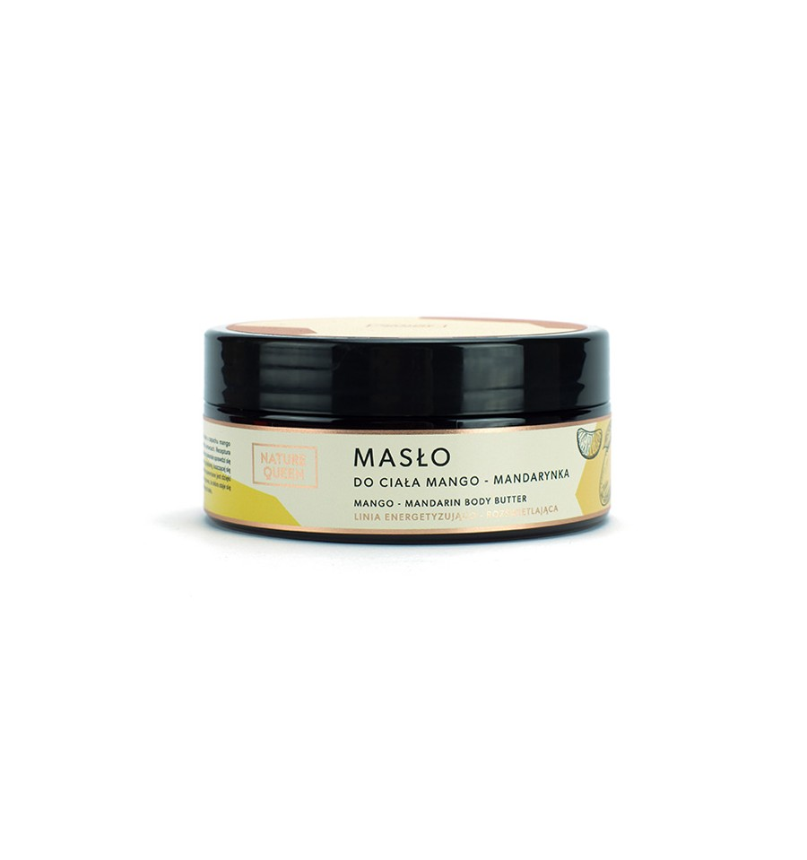 Nature Queen, Masło do ciała Mango i Mandarynka, 150 ml