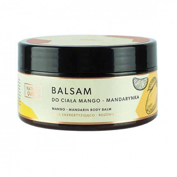 Nature Queen, Balsam do ciała Mango Mandarynka, 200 ml
