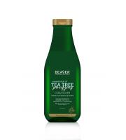 Beaver, Oczyszczjąca odżywka przeciwłupieżowa TEA TREE, 730 ml