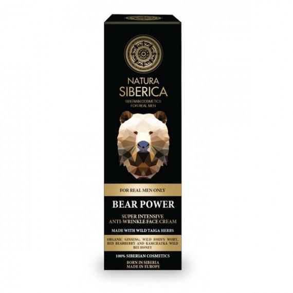 Natura Siberica Men, Intensywny krem przeciwzmarszczkowy, 50 ml