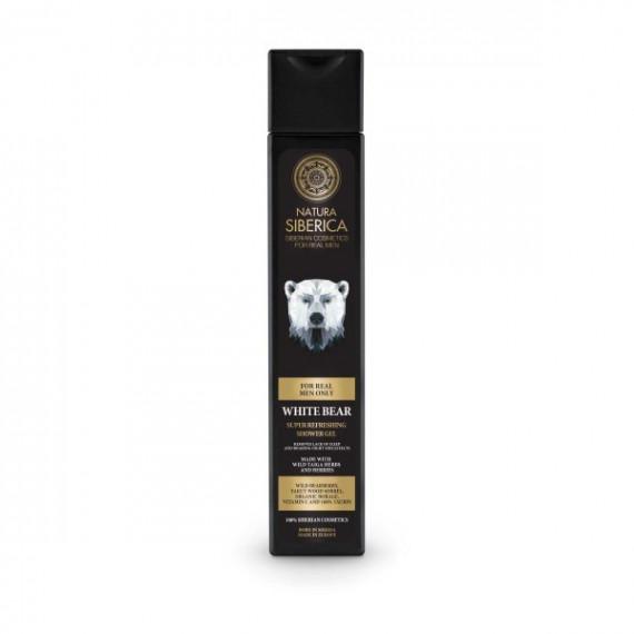 Natura Siberica Men, Orzeźwiający żel pod prysznic, 250 ml