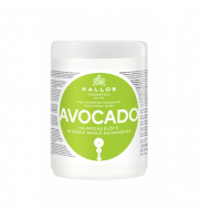 Kallos, Maska do włosów Avocado, 1000 ml
