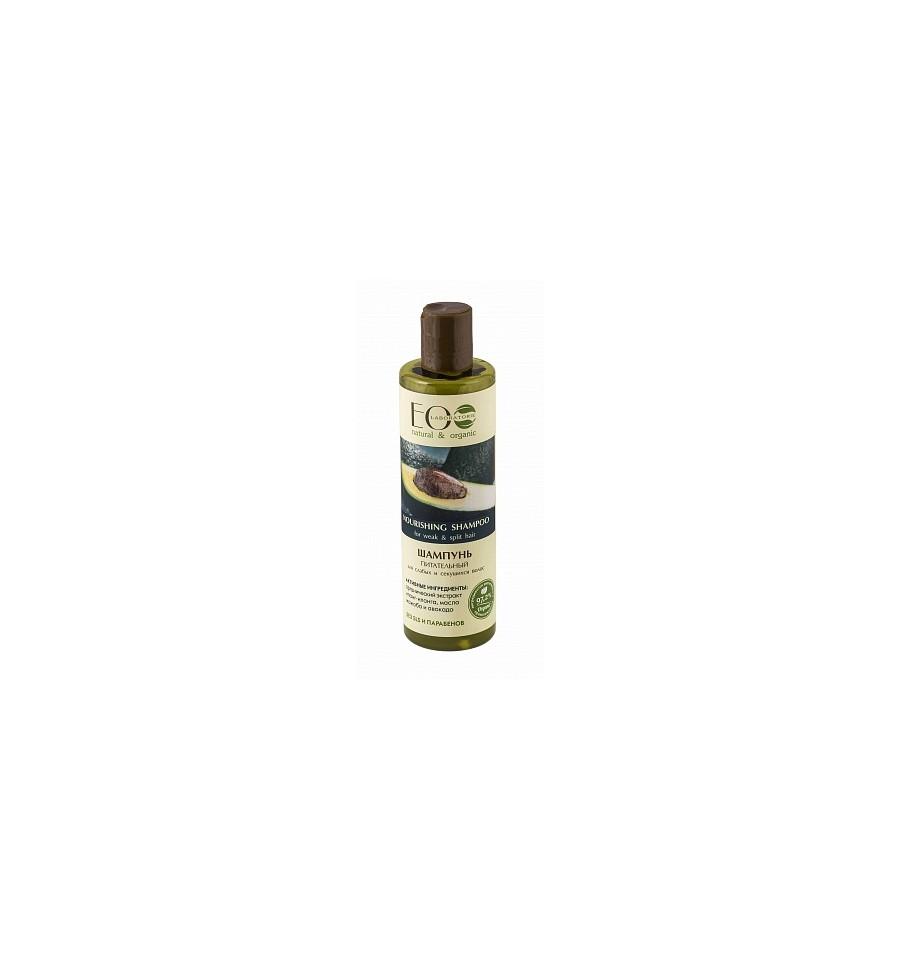 ECOLAB , Szampon odżywczy do osłabionych i łamliwych włosów, 250 ml