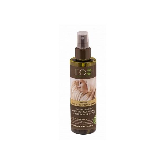 ECOLAB, Środek do prostowania i wzmocnienia włosów, 200 ml