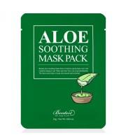 Benton, Aloe Soothing Mask, Kojąco-regenerująca maseczka do twarzy, 23 g
