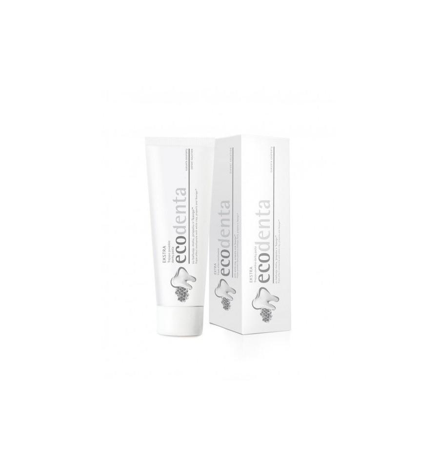 Ecodenta, Pasta do zębów potrójny efekt Biała Glinka, 100 ml