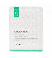 It's Skin, Green Tea Watery, Mask Sheer, Maska w płachcie, 17 g