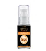Joanna, Keratyna, Odbudowujące serum do włosów matowych, 30 ml